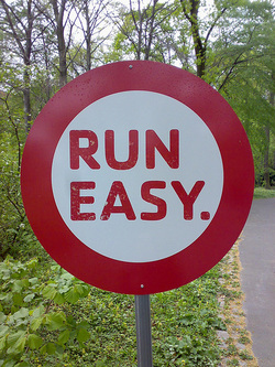 "Learning to Run Easy and Keep ""Runners Ego"" Under Control"